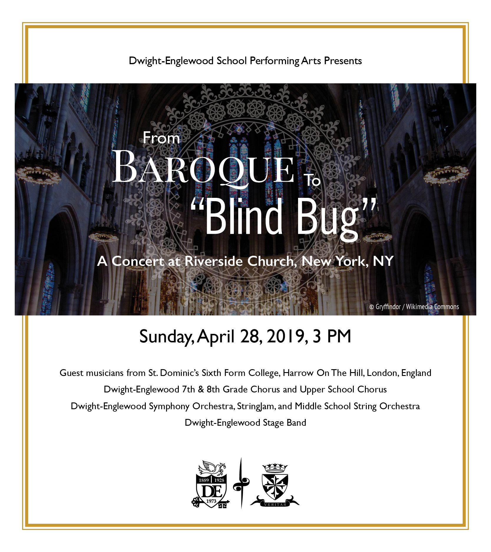 """From Baroque to """"Blind Bug"""""""