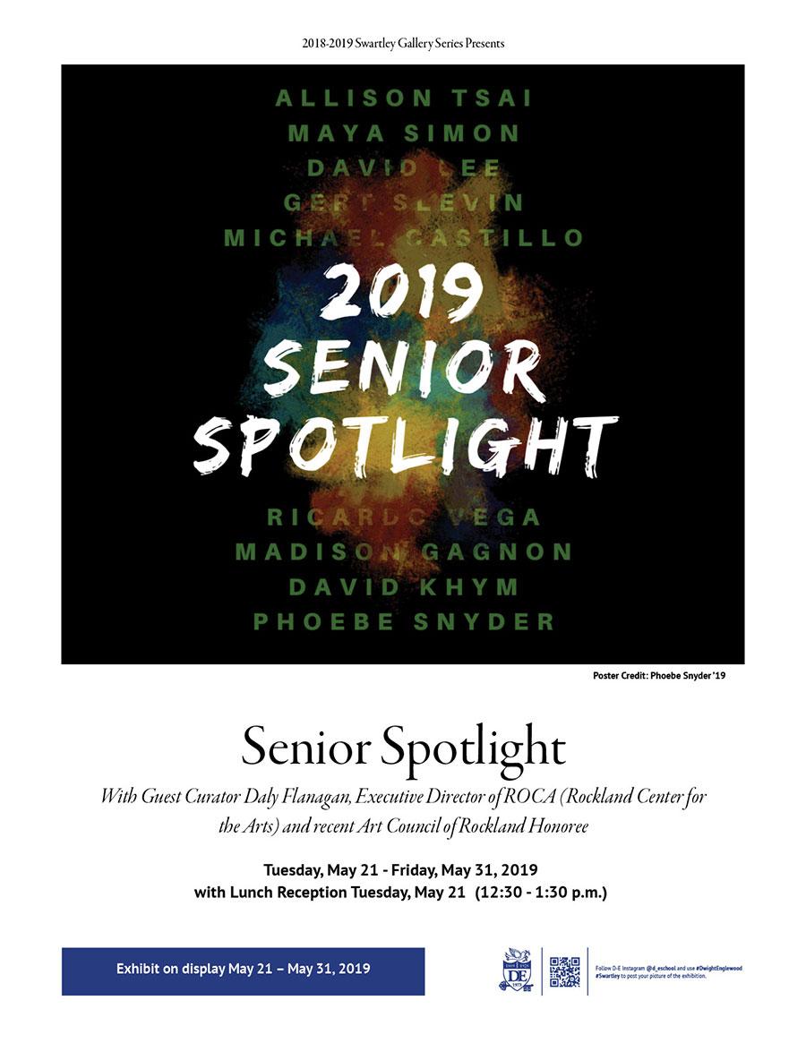Swartley Senior Spotlight Exhibit