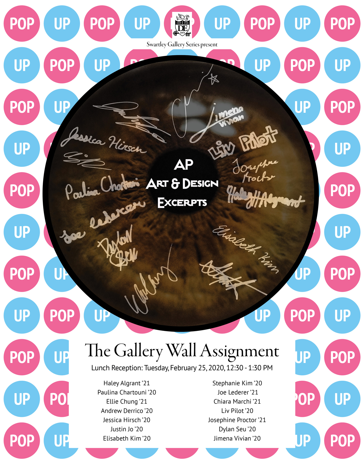 Swartley Gallery Presents: The Gallery Wall Assigment